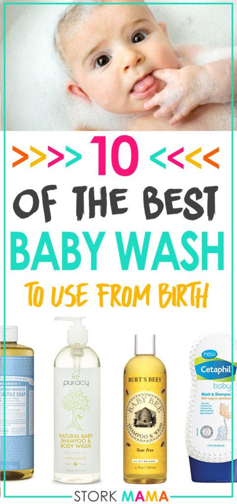 best baby wash for newborns