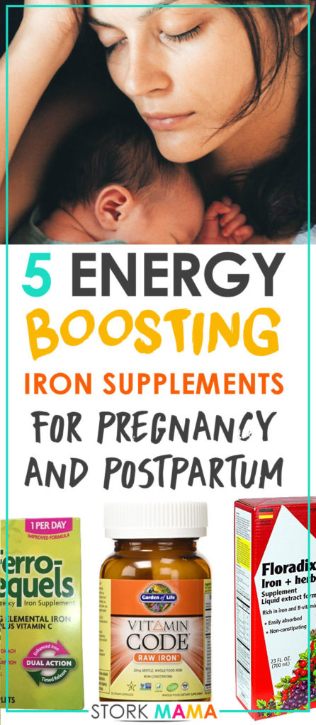 how to take iron tablets during pregnancy