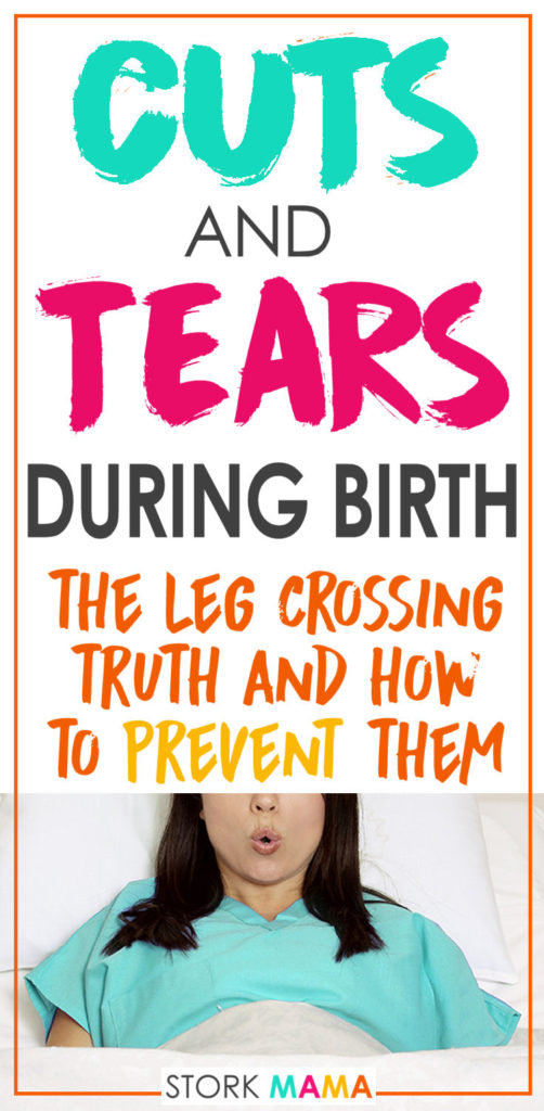 Everything you need to know about episiotomy and tearing during birth. Where you can tear and what puts you at risk. Plus how to prevent cuts and tears during delivery. Stork Mama