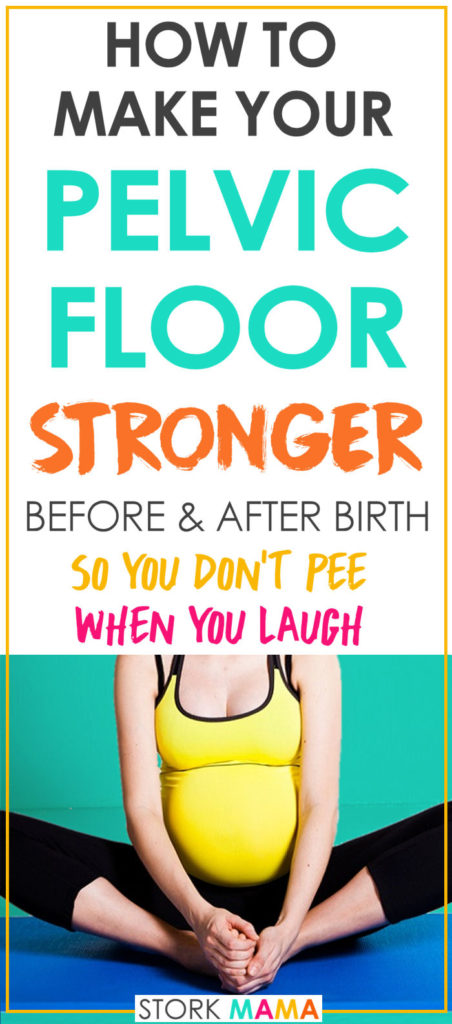 Pelvic floor exercises during pregnancy and Kegels after birth