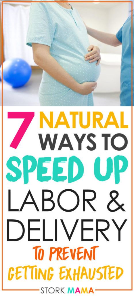 7 Natural Ways To Speed Up Labor And Delivery